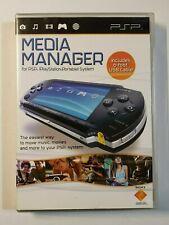 Media Manager For PSP UMD Very Good 3E