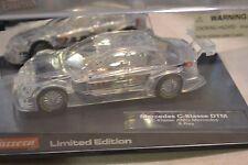 Carrera Evolution #27106 Mercedes C-Klass Dtm X-Ray Limited Edition 1/32 - New