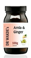 DR WAKDE'S Amla & Ginger Powder I FREE SHIPPING I 100% Natural Herbal Supplement