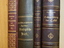 4x Buch Taktik Strategie Geschichte Feldzug 1870/71 Boguslawski Hohenlohe ~1887