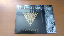 """THE DEVIL'S BLOOD """"FIRE BURNING""""  BLACK VINYL SINGLE 7"""" REISSUE"""