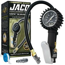 JACO FlowPro™ Tire Inflator with Pressure Gauge - 100 PSI
