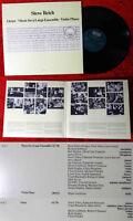 LP Steve Reich: Octet - Music for a large ensemble - Violin Phase (ECM 1168) D80