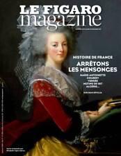 Le figaro magazine HISTOIRE DE FRANCE Marie-Antoinette, Colbert,... dec 2017