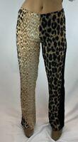 Leopard Print Roberto Cavalli Lightweight Trendy Pants