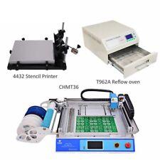 drucker 4432, CHM-T36 Desktop SMT Pick und Ort Maschine chmt36, Reflow Ofen