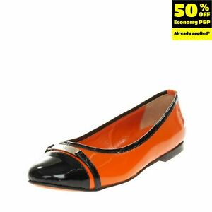 RRP €135 SAINT-HONORE PARIS SOULIERS Ballerina Shoes EU35 UK2 US5 Made in Italy