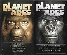 2 Planet of the Apes Omnibus Editions Vol 3 & 4 ~ Effinger & Arrow ~ 2017 & 2018