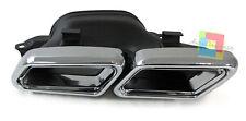 MERCEDES CLASSE S W222 2013+ TERMINALI DI SCARICO ACCIAIO LOOK AMG S65