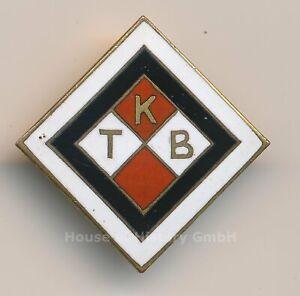 119959, Unbekanntes Mitgliedsabzeichen, S/W-Quadrat, rot/weise Felder KTB / TKB