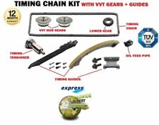 FOR OPEL VAUXHALL SAAB A20NHT 2.0 TURBO 2008-> TIMING CHAIN KIT + VVT GEARS