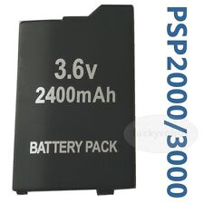 BATTERY PACK FOR SONY PSP 3000 3001 3003 3004 lite new 2400mah Rechargeable
