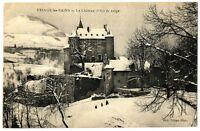 CPA 38 Isère Uriage-les-Bains Le Château (Effet de neige)