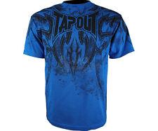 BNWT TAPOUT CORRUPTION BLUE SHIRT S M L XL UFC MMA