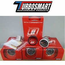 "NEW IN STOCK Turbosmart 0-30PSI Turbo Boost Gauge 2 1/16"" 52mm  W/ All Hardware"