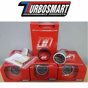"NEW IN STOCK Turbosmart 0-30PSI Turbo Boost Gauge 2 1/16"" 52mm  W/ All Hardware"