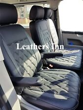 VW TRANSPORTER T6 (2016-2017) Single & Double Leatherette Seat Covers Discounted