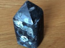 Larvikite Polished Obelisk 67g  Norway. Grounding, Protection, Magical.