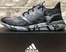 Adidas Ultraboost 20 Running Shoes Fv8329 Black / Grey / Geometric Camo New Mens