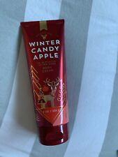 Winter Candy Apple Body Cream Bath & Body Works Usa New