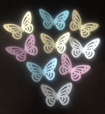 40 Multi Edible Rice Paper/wafer BUTTERFLY Cake Toppers, Decorations Birthdays