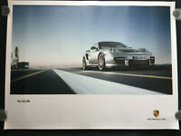 PORSCHE 911 997 GT2 RS OFFICIAL FACTORY ISSUED FRONT 3/4 VIEW POSTER 2011.