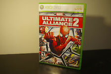 Marvel: Ultimate Alliance 2 (Microsoft Xbox 360, 2009) *Tested / Complete
