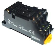 OMRON 2058W1 RELAY SOCKET 5 AMP 250 VAC