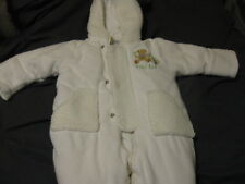 First Impressions Baby Girls' Fluffy and Furry Coat  White 6-9 Months  LOOK!