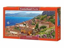 "Castorland Puzzle 4000 Pieces - Monemvasia,Greece - 54""x27"" Sealed box C-400140"