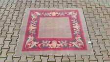 Oushak Rug 5x6 feet,Anatolian, Turkish kilim,square rug, Vintage hand made 57✕66