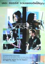 """Corrs """"Best Of"""" Thailand Promo Poster - 4 Shots Of The Group Playing Instruments"""