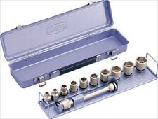 Impact Socket Set, Insertion angle 9.5mm (3/8inch), NV3102, TONE, Made in JAPAN
