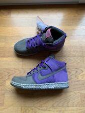 brand new 9b1cf 41f48 Rare Nike Dunk High Purple Earthquake 2007
