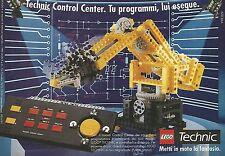 X1532 Control Center - Lego Technic - Pubblicità del 1991 - Vintage advertising