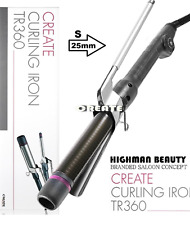 Professional Create Curling Marcel type Iron TR360 S-Szie (25mm)  MADE IN KOREA