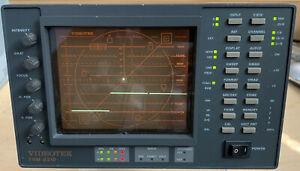 Videotek TVM-821D Serial Digital Waveform Monitor/Vectorscope w/Case