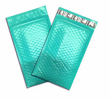 "20Pack Teal Green -4x8"" Poly BUBBLE MAILERS Padded Shipping Mailing Envelopes"