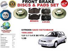 pour CITROEN SAXO HAYON 96-04 Avant Uni Kit Disque frein + PLAQUETTES DE