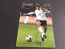 OLIVER NEUVILLE DFB signed Autogrammkarte 15x21