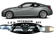 LED Package Interior + License + Vanity + Reverse for Hyundai Genesis Coupe 12Pc