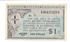 Series 461   1 Dollar $1  ABOUT  UNC