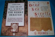 G. Vermes: The Dead Sea Scrolls in English + Leonie Star: The Riddle Dabated