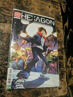HEXAGON #1 MICHAEL MORECI EXCLUSIVE CHICAGO 2019 Comic Con Impact COMIC BOOK