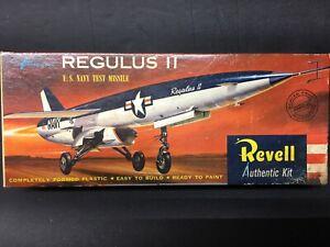 Rare! -      1958 Revell Regulus II Guided Missile  --         vintage! -