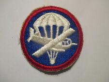 New listing ORIGINAL WW2 U.S. ARMY PARAGLIDER / GLIDER CAP PATCH. OFFICERS