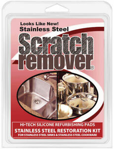Siege Stainless Steel Sink & Cookware Scratch Remover, Made in USA, 63001