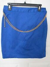 NWT - NUE OPTIONS Royal Blue Straight Skirt - sz  12P - MSRP $48.00