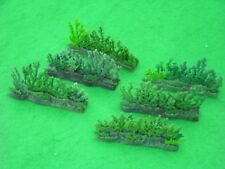 BRITAINS FLORAL & GARDEN,  HEDGE SECTIONS x6