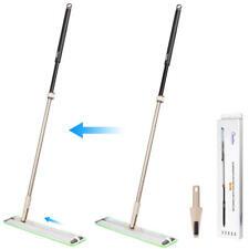 CleanWise® Flat Mop W/ Sliding Connector Multi-use flexible mop/window car wiper